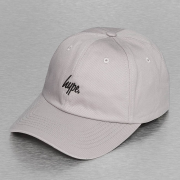 HYPE Snapback Caps Script Dat šedá
