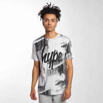 HYPE T-Shirt Wall Run blanc