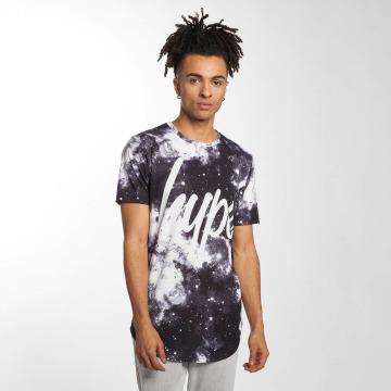 HYPE T-Shirt Mono Space blanc