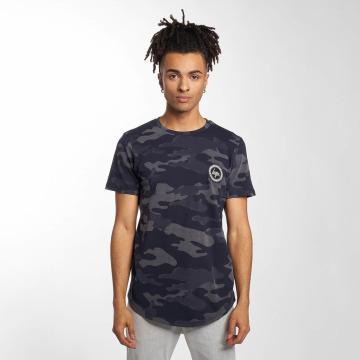 HYPE T-Shirt Laser Camo bleu