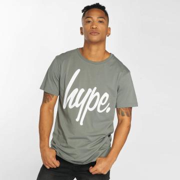 HYPE T-Shirt Script grau