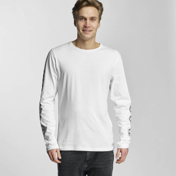 HYPE T-Shirt manches longues Crest blanc