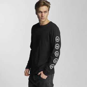 HYPE T-Shirt manches longues Crest noir