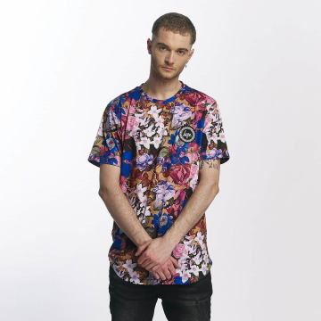 HYPE T-Shirty Side Tape Dished kolorowy