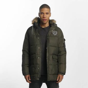 HYPE Winter Jacket Explorer Puffa khaki