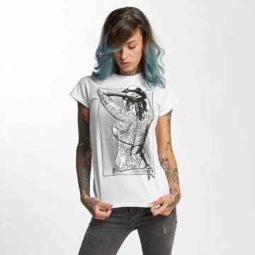 I Love Tattoo T-Shirt JJR blanc