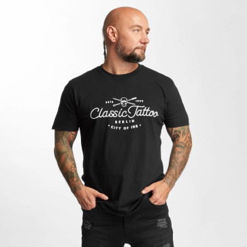 I Love Tattoo T-shirt City Of Ink nero