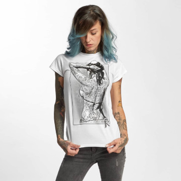 I Love Tattoo T-shirt JJR vit