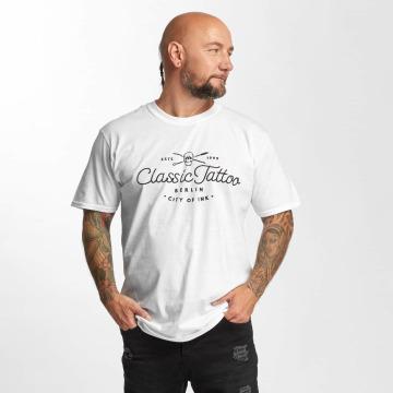 I Love Tattoo Trika City Of Ink bílý