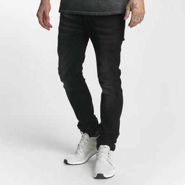 ID Denim Jeans straight fit Ville nero