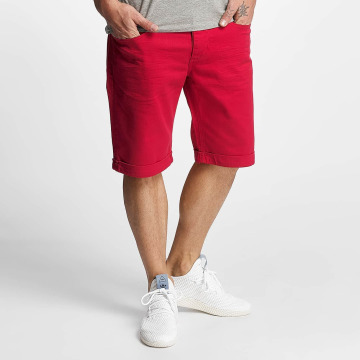 ID Denim Shorts Twill röd