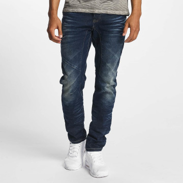 ID Denim Straight Fit Jeans Five blå
