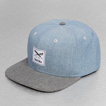 Iriedaily Snapback Cap Flag Chambray blau
