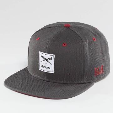 Iriedaily Snapback Cap Flag grau