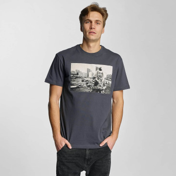 Iriedaily T-Shirt Clown grau