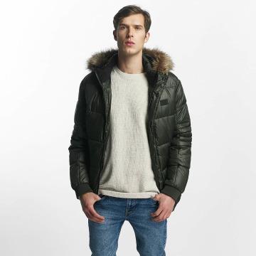 Jack & Jones Зимняя куртка jcoErnst зеленый