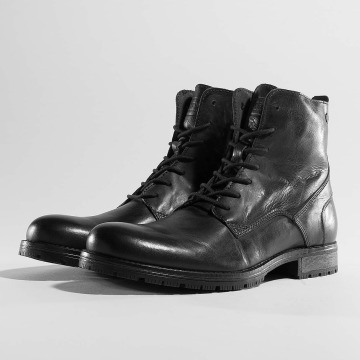 Jack & Jones Boots jfwOrca Leather schwarz