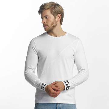 Jack & Jones Camiseta de manga larga jcoAlen blanco