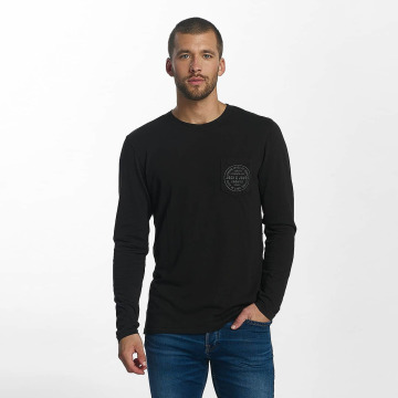 Jack & Jones Camiseta de manga larga jorTap negro