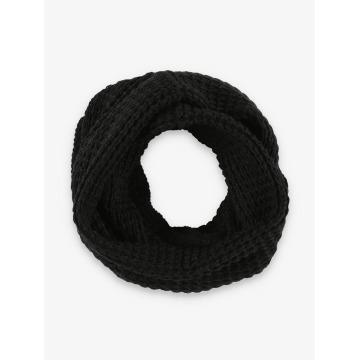Jack & Jones Chal / pañuelo jacWaffle Knit negro