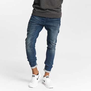 Jack & Jones Jean carotte antifit jjiSimon jjClay bleu
