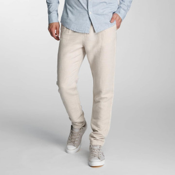 Jack & Jones Pantalon chino jjiRobert jjLinen beige