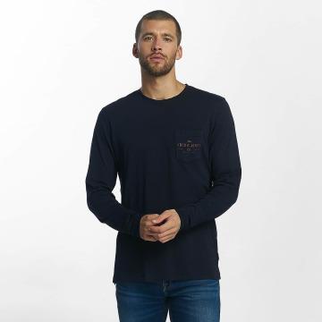 Jack & Jones Pitkähihaiset paidat jorTap sininen