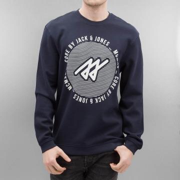 Jack & Jones Pullover jcoPique blau