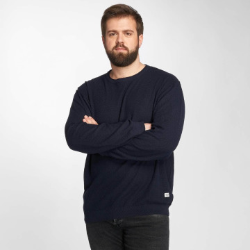 Jack & Jones Pullover jorNash Knit blau