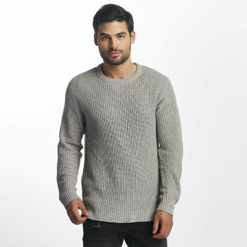 Jack & Jones Pullover jorPannel grau