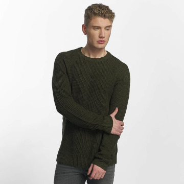 Jack & Jones Pullover jorPannel Knit grün