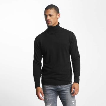 Jack & Jones Pullover rLinking Knit Roll Neck schwarz