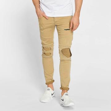 Jack & Jones Skinny Jeans jjiGlenn jjJaxx bezowy