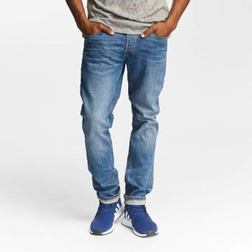 Jack & Jones Slim Fit Jeans jjiTim jjOriginal AM420 blau