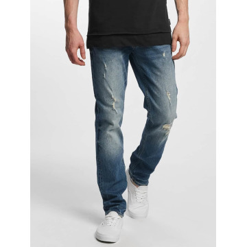 Jack & Jones Slim Fit Jeans jjTim Original CR 004 blau
