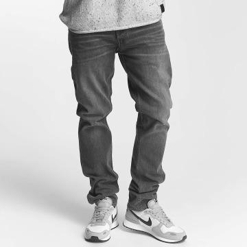 Jack & Jones Slim Fit Jeans jjiTim jjOriginal grijs
