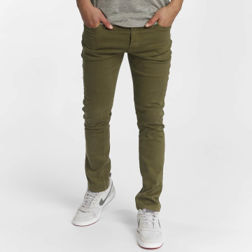 Jack & Jones Slim Fit Jeans jjiGlenn oliven