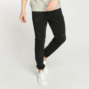 Jack & Jones Slim Fit Jeans jjiTim svart