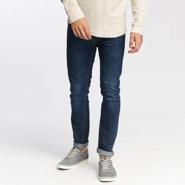Jack & Jones Straight Fit Jeans jjiTim jjOriginal AM 421 blå
