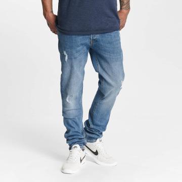 Jack & Jones Straight Fit Jeans jjiTim jjOriginal AM 418 blå