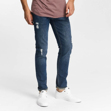 Jack & Jones Straight Fit Jeans jjiTim jjOriginal AM 419 blå