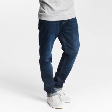 Jack & Jones Straight Fit Jeans jjMike jjOriginal AM 421 blå