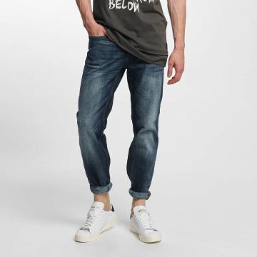 Jack & Jones Straight Fit Jeans jjClark Original Loose Fit blå