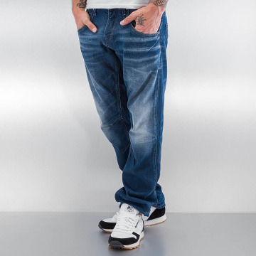 Jack & Jones Straight fit jeans jjBoxy jjLeed blauw