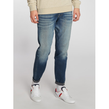 Jack & Jones Straight Fit Jeans Mike modrý