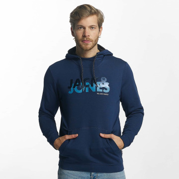 Jack & Jones Sweat capuche jcoHong bleu