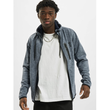 Jack & Jones Sweat capuche zippé jcoJesper bleu