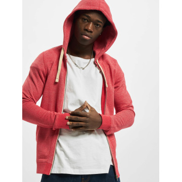 Jack & Jones Sweat capuche zippé jjvRecycle brun