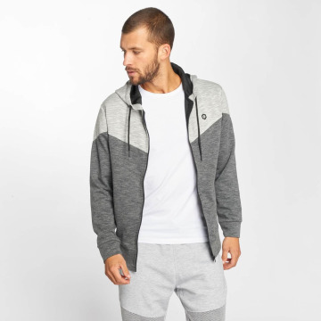 Jack & Jones Sweat capuche zippé jcoChevron noir