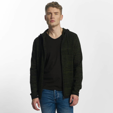 Jack & Jones Sweat capuche zippé jcoPhoenix vert